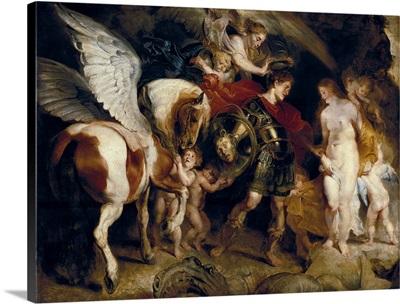 Perseus and Andromeda. Ca. 1620-21. By Peter Paul Rubens