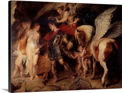 Perseus Freeing Andromeda, By Peter Paul Rubens, 1622