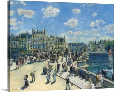 Pont Neuf, Paris, by Auguste Renoir, 1872