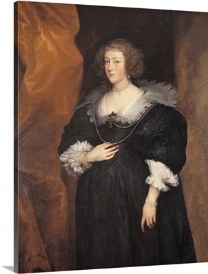 Portrait Of A Lady, By Antony Van Dyck, C. 1635. Brera Gallery, Milan, Italy