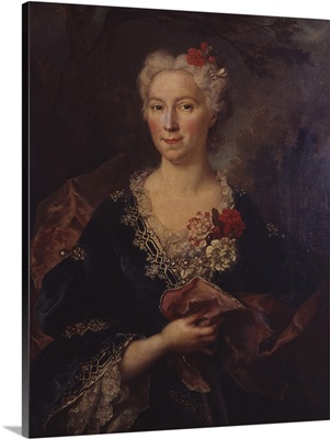 Portrait Of A Lady, By Nicolas De Largilliere And Others, 18th C.