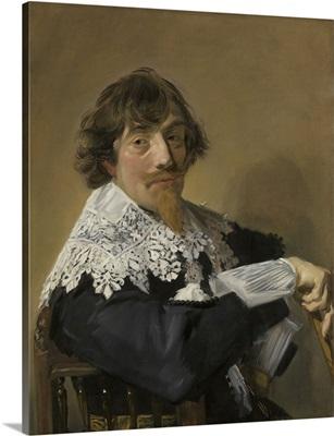 Portrait of a Man, by Frans Hals, 1635