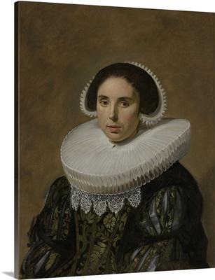 Portrait of a Woman, by Frans Hals, 1635