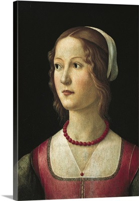 Portrait of a Young Woman, Ca. 1485