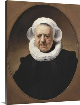 Portrait of Aechje Claesdr