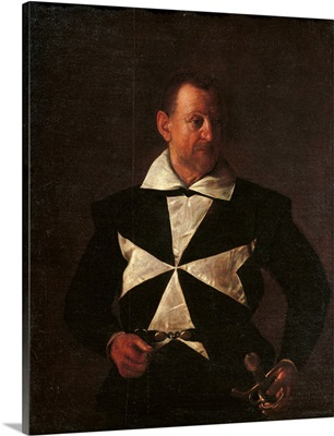 Portrait Of Alof De Wignacourt, By Caravaggio, 1607-1608. Florence, Italy