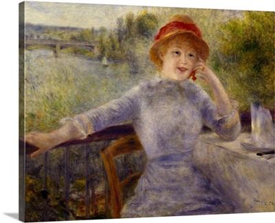 Portrait of Alphonsine Fournaise, 1879
