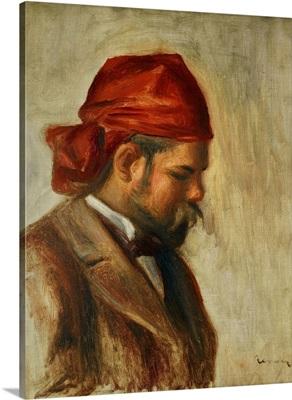 Portrait of Ambroise Vollard in a Red Scarf (Art Dealer) 1899