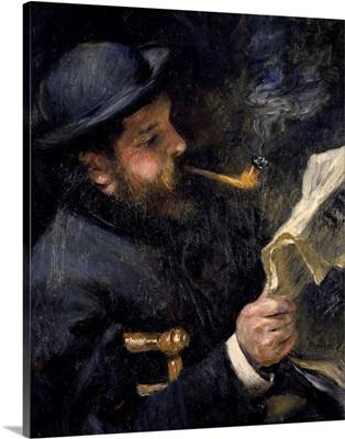 Portrait of Claude Monet Reading, 1872