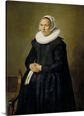 Portrait of Feyntje van Steenkiste, by Frans Hals, 1635