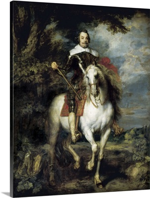 Portrait of Francisco Moncada on Horseback