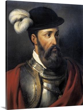 Francisco Pizarros Ship Portrait of Fra...