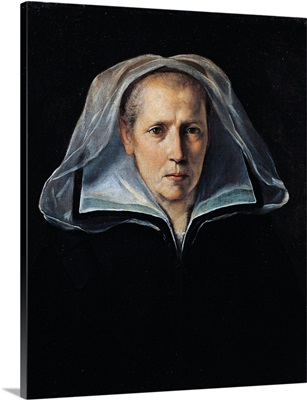 Portrait of Guido Reni's Mother, By Guido Reni