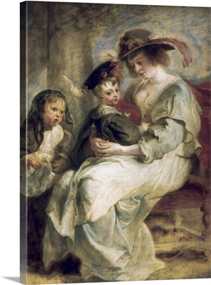 Portrait of Helena Fourment with Two of her Children