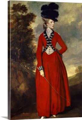 Portrait of Lady Worsley, By Sir Joshua Reynolds, 1776