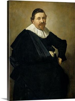 Portrait of Lucas de Clercq, by Frans Hals, 1635