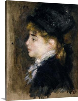 Portrait of Margot. 1876-78. By Pierre-Auguste Renoir. Orsay Museum