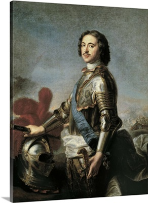 Portrait of Peter I