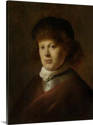 Portrait of Rembrandt van Rijn, by Jan Lievens, c. 1628