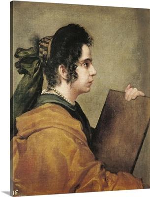 Portrait presumed to be Juana Pacheco as a Sibyl