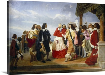 Poussin Presented to King Louis XIII