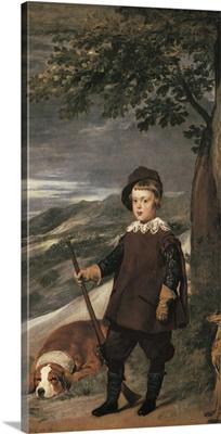 Prince Balthasar Carlos. 1635-36