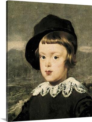 Prince Balthasar Carlos, Detail, 1635-36