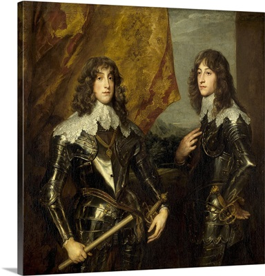 Prince Charles Louis, Elector Palatine and his Brother, Prince Rupert, 1637
