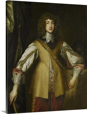 Prince Rupert, Count Palatine of Rhine, copy after Anthony van Dyck, 1630-99