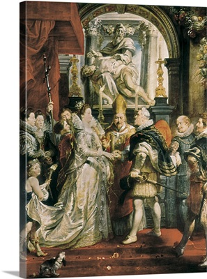Proxy Marriage of Marie de Medici and Henri IV, 1600. 1621-25