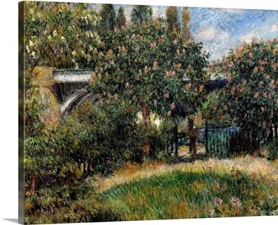 Railway Bridge at Chatou. 1881. By Pierre-Auguste Renoir. Orsay Museum