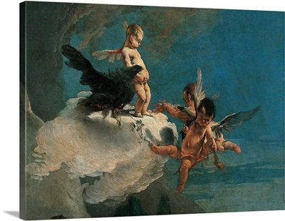 Rape of Europa, by Giambattista Tiepolo, 1720-1721. Accademia, Venice, Italy