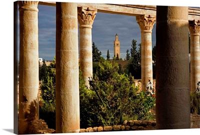 Reconstitution of a Roman House. Archeological Museum, El Djem, Tunisia