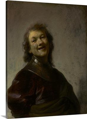 Rembrandt Laughing, by Rembrandt van Rijn, c. 1628, Dutch painting