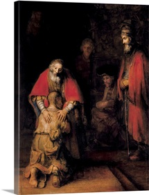 Return of the Prodigal Son. 1668. By Rembrandt