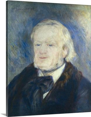 Richard Wagner. 1882. By Pierre-Auguste Renoir. Orsay Museum