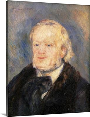 Richard Wagner, by Pierre-Auguste Renoir, 1882. Musee d'Orsay, Paris, France