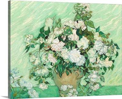 Roses, by Vincent van Gogh, 1890