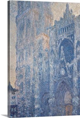 Rouen Cathedral (Morning Effect), By Claude Monet, Ca. 1893-1894. Paris, France