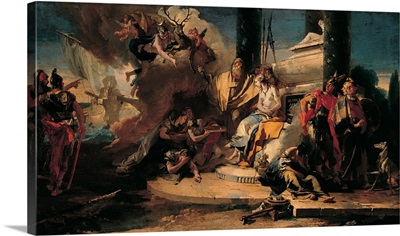 Sacrifice of Iphigenia, by Giambattista Tiepolo, 1725-1735. Venice, Italy