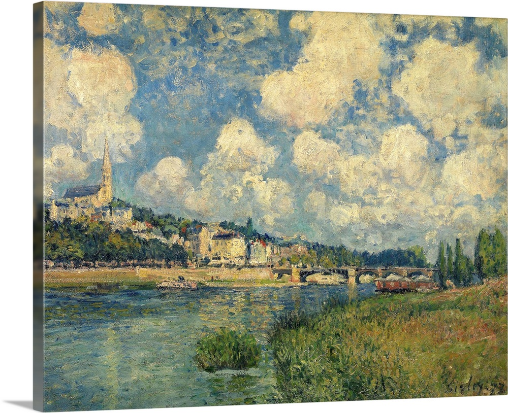 Saint Cloud 1877 By Impressionist Alfred Sisley 1877 Wall Art Canvas Prints Framed Prints Wall Peels Great Big Canvas