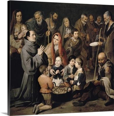 Saint Diego de Alcala Feeding the Poor, 1645-46