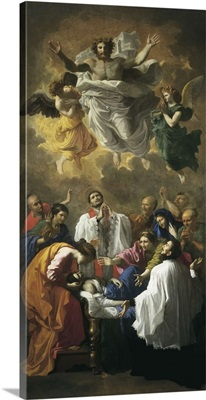 Saint Francis Xavier Bringing Back to Life the Daughter of an Inhabitant of Cangoxima
