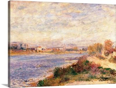 Seine at Argenteuil, by Pierre-Auguste Renoir, ca. 1873. Musee d'Orsay, Paris, France