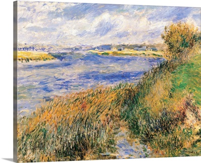 Seine at Champrosay, by Auguste Renoir, ca. 1876. Musee d'Orsay, Paris, France
