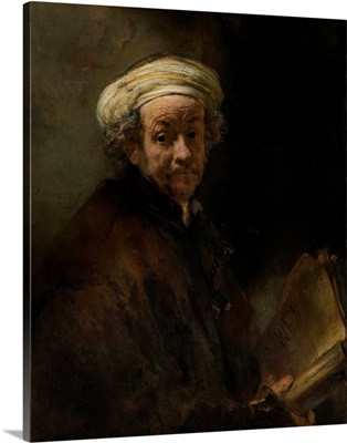 Self Portrait as the Apostle Paul, by Rembrandt van Rijn, 1661