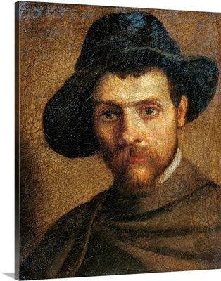 Self Portrait, By Annibale Carracci, 1593. National Gallery, Parma, Italy