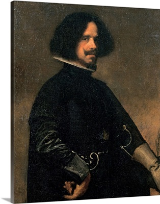 Self-Portrait, by Diego Rodriguez Velazquez, 1631. Uffizi Gallery, Florence, Italy