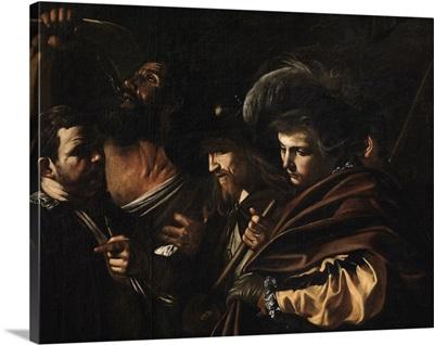 Seven Works of Mercy, by Caravaggio, 1606-1607. Pio Monte della Misericordia Church