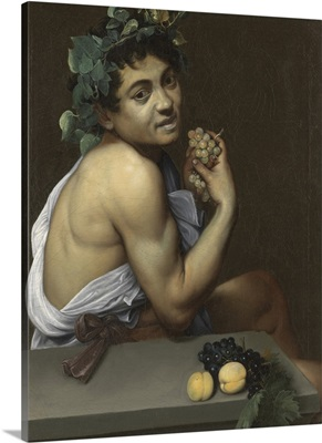 Sick Bacchus, by Caravaggio, c. 1593-1594. Borghese Gallery, Rome, Italy